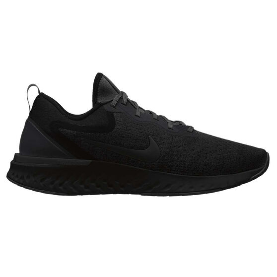 Nike Odyssey React Mens Running Shoes Black   Black US 7  b5bb36697