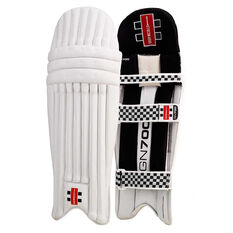 Gray Nicolls GN 700 Junior Cricket Batting Pads Black S Junior, Black, rebel_hi-res
