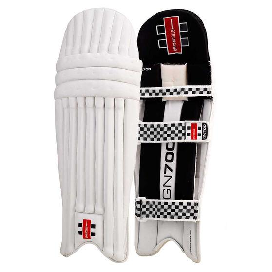 Gray Nicolls GN 700 Junior Cricket Batting Pads, Black, rebel_hi-res