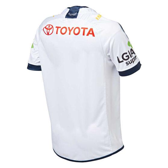 North Queensland Cowboys 2019 Mens Away Jersey, White, rebel_hi-res
