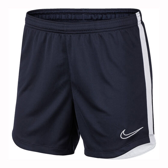 Nike Womens Dri-FIT Academy Training Shorts, Navy, rebel_hi-res