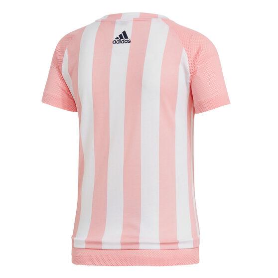 adidas Womens Sports ID Tee, Pink, rebel_hi-res