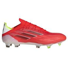 adidas X Speedflow .1 Football Boots Red/Black US Mens 7 / Womens 8, Red/Black, rebel_hi-res