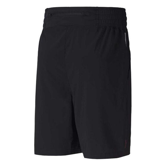 Puma Mens Thermo R+ Woven Shorts Black S, Black, rebel_hi-res