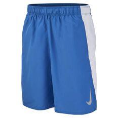 Nike Boys Dri-FIT Flex Shorts Blue / White XS, Blue / White, rebel_hi-res