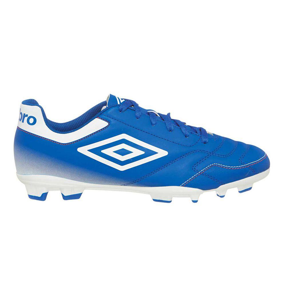 cbb9da022d3b Umbro Classico IV FG Mens Football Boots Blue / White US 8 Adult, Blue /