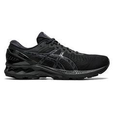 Asics GEL Kayano 27 Mens Running Shoes Black US 7, Black, rebel_hi-res