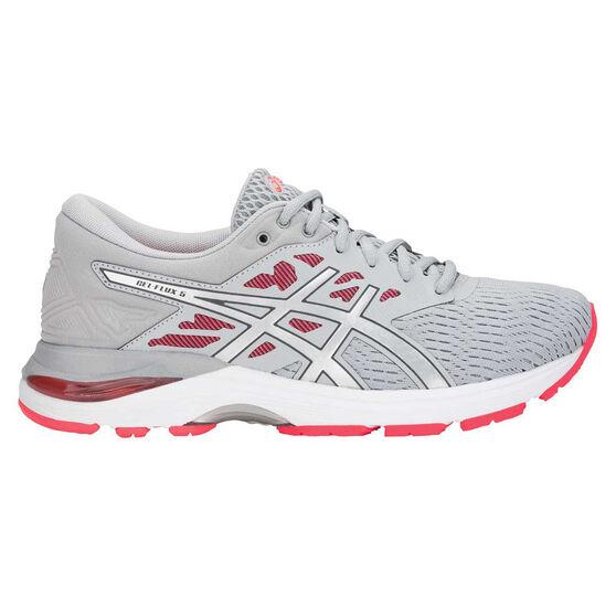 Asics Gel Flux 5 Womens Running Shoes, Grey, rebel_hi-res