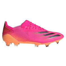 adidas Ghosted .1 Football Boots Pink US Mens 7 / Womens 8, Pink, rebel_hi-res