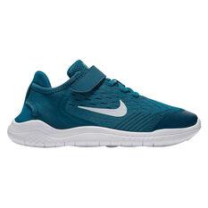 Nike Free RN 2018 Kids Running Shoes Blue US 11, , rebel_hi-res