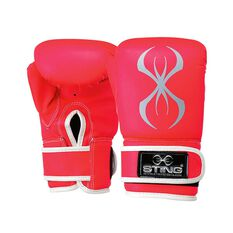 Sting Armafit Bag Boxing Mitt Pink S, Pink, rebel_hi-res