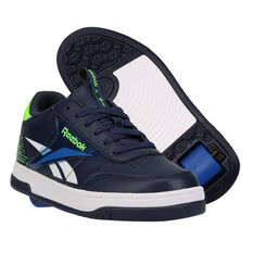 Reebok Court Low Heelys Blue/Green US 13, Blue/Green, rebel_hi-res