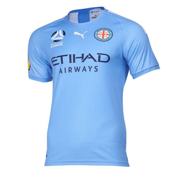 Melbourne City FC 2019/2020 Kids Home Jersey, Blue, rebel_hi-res