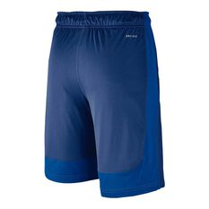 Nike Boys Dry Fly Shorts Blue / Black X Small Junior, Blue / Black, rebel_hi-res