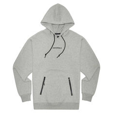 Converse Adult Court Zip Pullover Hoodie Grey S, Grey, rebel_hi-res
