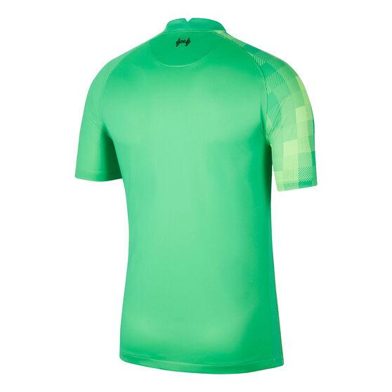 Liverpool FC 2021/22 Mens Stadium Goal Keeping Jersey, Green, rebel_hi-res