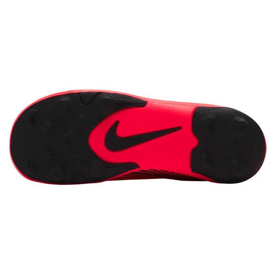 Nike Mercurial Vapor XIII Club Kids Football Boots, Black / Red, rebel_hi-res