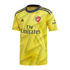 Arsenal FC 2019/20 Kids Away Jersey Gold / Black 8, Gold / Black, rebel_hi-res