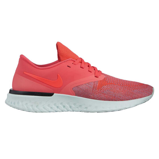 Nike Odyssey React 2 Womens Running Shoes, Red / Black, rebel_hi-res