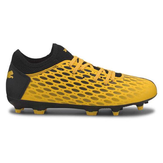 Puma Future 5.4 Kids Football Boots, Yellow / Black, rebel_hi-res