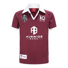 QLD Maroons State of Origin 2020 Kids Home Jersey Maroon 6, Maroon, rebel_hi-res