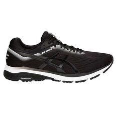 Asics GT 1000 7 Mens Running Shoes Black US 7, Black, rebel_hi-res