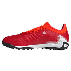 adidas Copa Sense .3 Touch and Turf Boots Red/White US Mens 7 / Womens 8, Red/White, rebel_hi-res