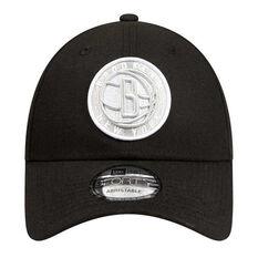 Brookyln Nets New Era 9FORTY Black Cloud Cap, , rebel_hi-res
