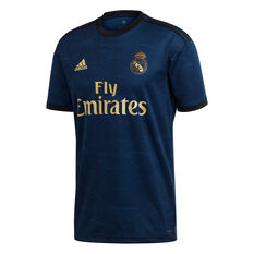 Real Madrid CF 2019/20 Mens Away Jersey, Navy, rebel_hi-res