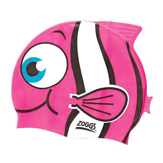 Zoggs Character Silicone Junior Swim Cap, , rebel_hi-res