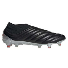 adidas Copa 19+ Football Boots Black / Red US Mens 7 / Womens 8, Black / Red, rebel_hi-res