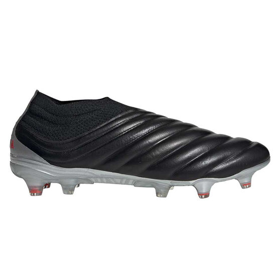 adidas Copa 19+ Football Boots Black / Red US Mens 8 / Womens 9, Black / Red, rebel_hi-res