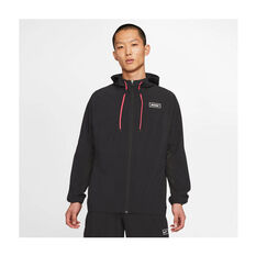 Nike Mens Sports Clash Full-Zip Training Jacket Black S, Black, rebel_hi-res