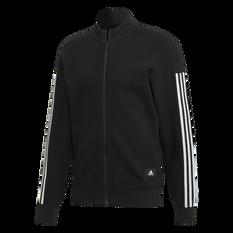 adidas Mens ID Track Top Black S, Black, rebel_hi-res