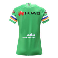 Canberra Raiders 2020 Womens Home Jersey Green 8, Green, rebel_hi-res