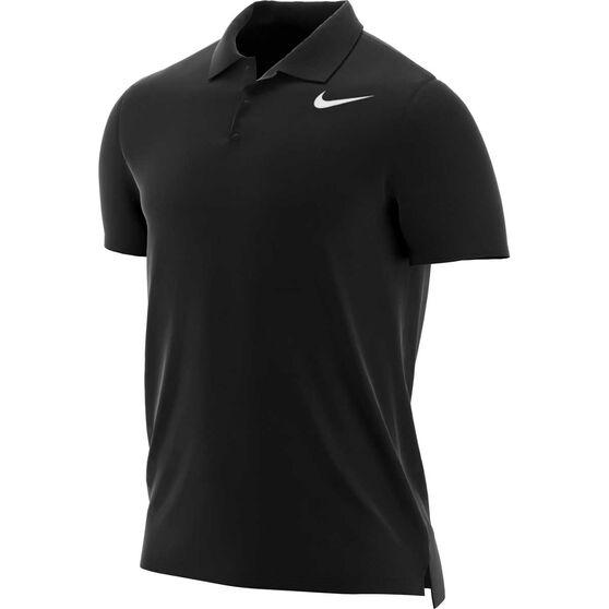 NikeCourt Boys Dri-FIT Team Polo, Black / White, rebel_hi-res