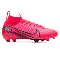Nike Mercurial Superfly VII Elite Kids Football Boots Black / Red US 4, Black / Red, rebel_hi-res