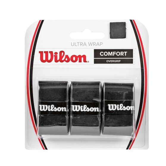 Wilson Ultra Wrap Tennis Overgrip Black, , rebel_hi-res