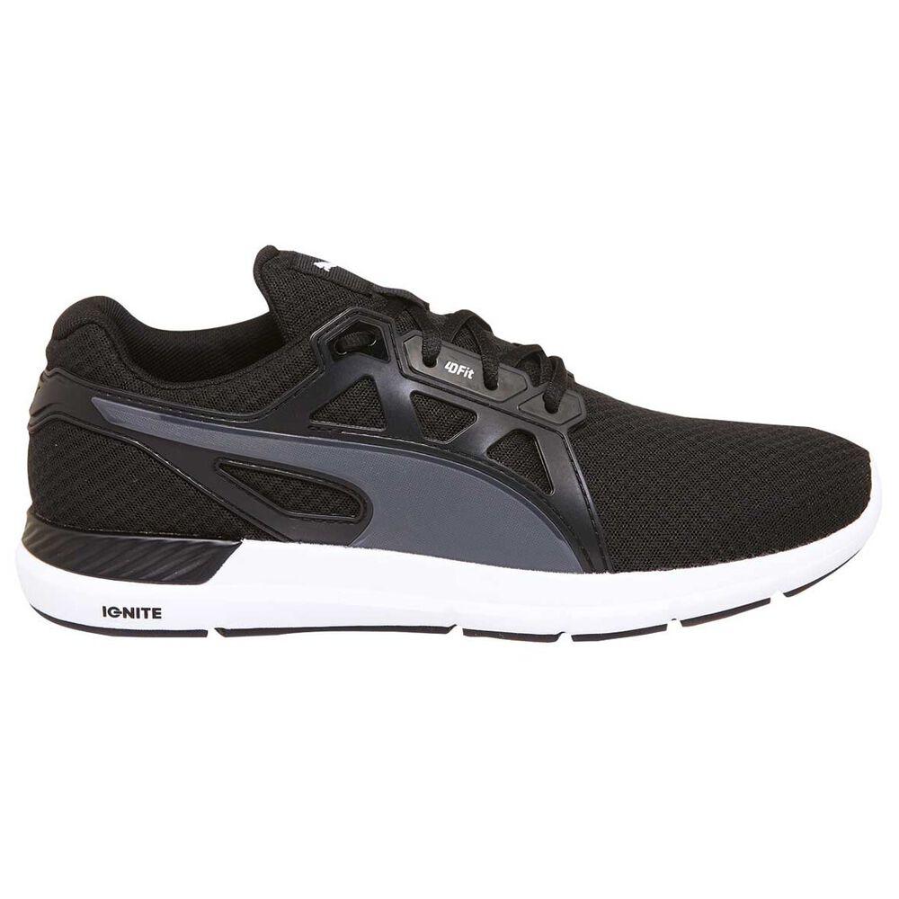 Puma Dynamo Mens Running Shoes Black   Grey US 7  6e12e95e1