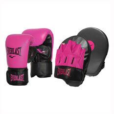 Everlast Tempo Bag Boxing Glove and Mitt Combo S / M, , rebel_hi-res