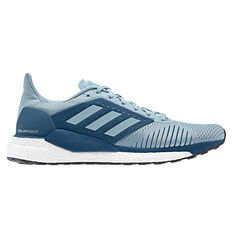 adidas Solar Glide ST Mens Running Shoes Grey / Blue US 7, Grey / Blue, rebel_hi-res