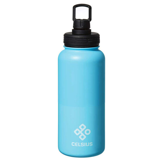 Celsius Stainless Insulated 950ml Water Bottle Blue 950mL, Blue, rebel_hi-res