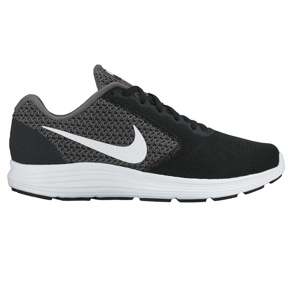 Nike Revolution 3 Womens Running Shoes Black   White US 6  2678c83d23