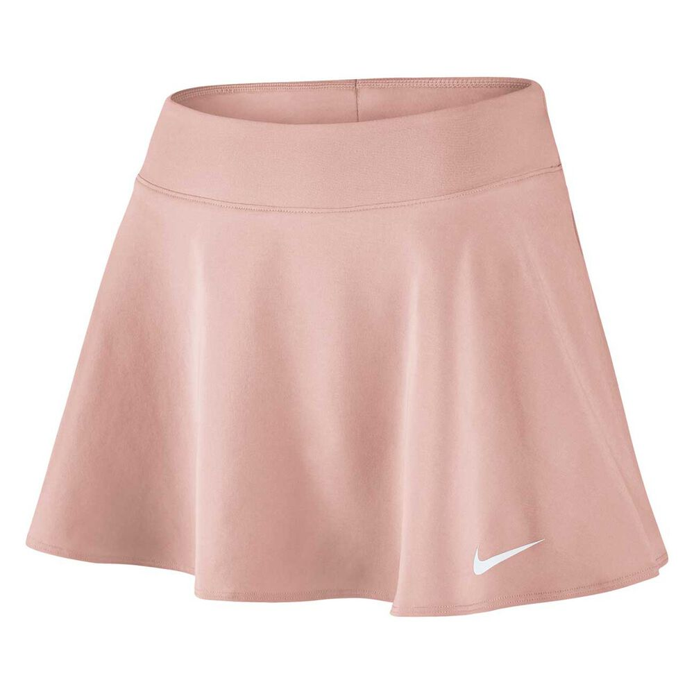 a1aec72ab2d NikeCourt Womens Flex Pure Tennis Skirt Pink   White XS