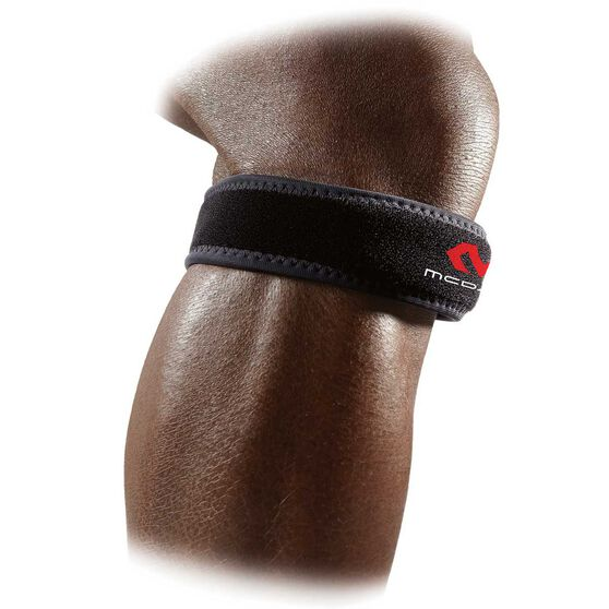 McDavid Patella Knee Strap Support Regular Black, , rebel_hi-res