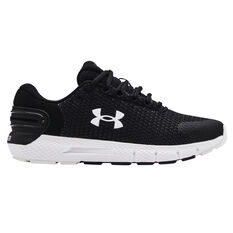 Under Armour Charged Rogue 2.5 Reflect Womens Running Shoes Black/White US 6, Black/White, rebel_hi-res