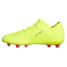 adidas Nemeziz 18.1 Kids Football Boots Yellow / Blue US 11, Yellow / Blue, rebel_hi-res