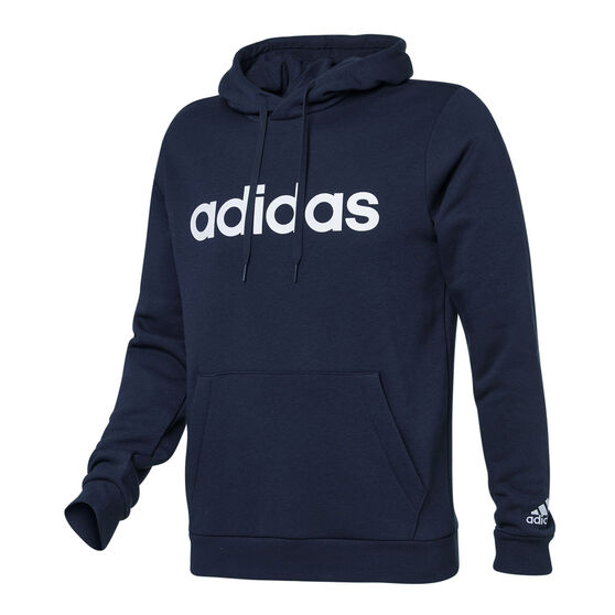 adidas Mens Essentials Linear Logo Hoodie, , rebel_hi-res