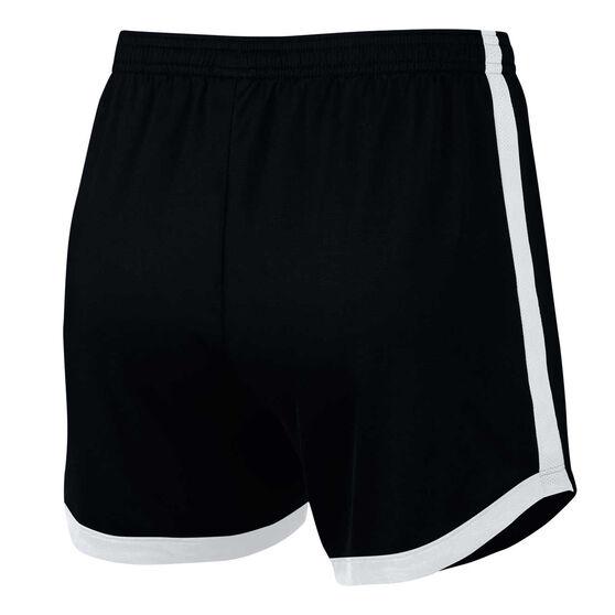 Nike Womens Dri-FIT Academy Football Shorts, Black, rebel_hi-res