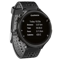 Garmin Forerunner 235 GPS Heart Rate Watch Black / Grey, , rebel_hi-res